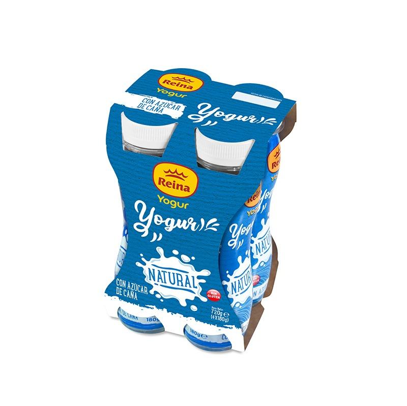 Yogur bebible natural 4x180g -Postres y Yogur Reina