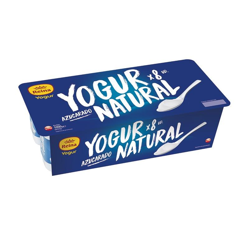 yogur-natural-azucarado-Reina-8x125g
